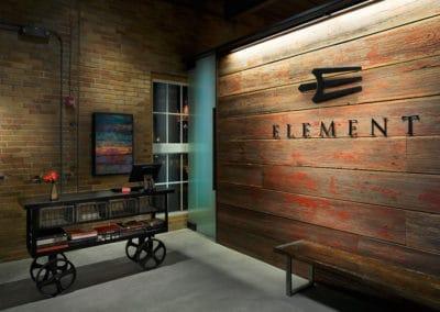 Element reception